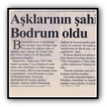 Bodrum Yarymada Newspaper- 21.09.2004